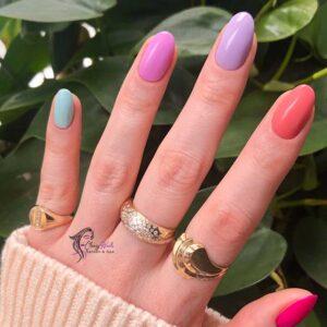 Classy Nails Soft Skittles