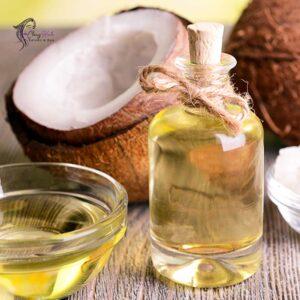 copra oil + purgative + vegetable oil + Aloe Vera