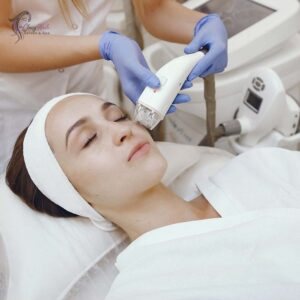 woman-cosmetology-Studio-laser-hair-removal