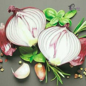 Onion juice and purgative Mask