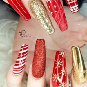 long elegant nails