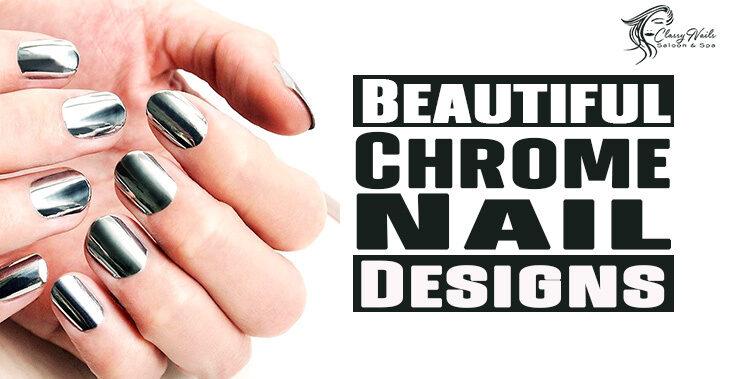 100+ Beautiful Chrome Nails | Classy Nails | 2021