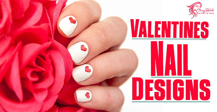 100+ Classy Nails Art For Valentines Day Nails | 2021