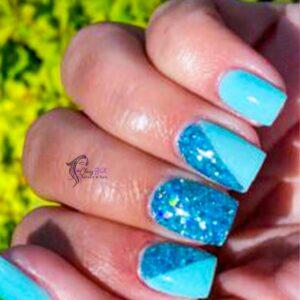 Aqua Elegant Nails