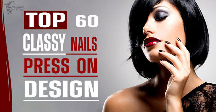 60+ Classy Nails for Press-On Nails   2021