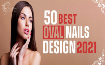 50+ Best Oval Nails Design   Classy Nails   2021