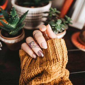 Cafe Latte Manicure