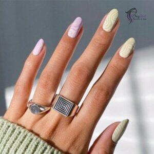 Classy Logomania Nails