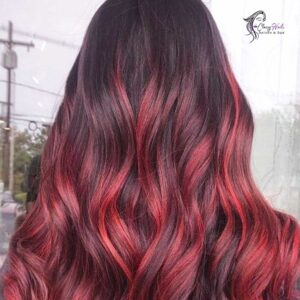 Fire Engine Red Highlights