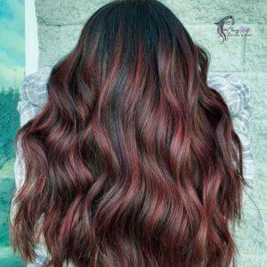 Multi-Tonal Red Highlights