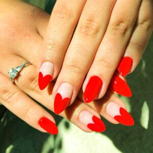 valentines day nails