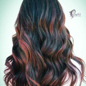 Wine Red Highlights