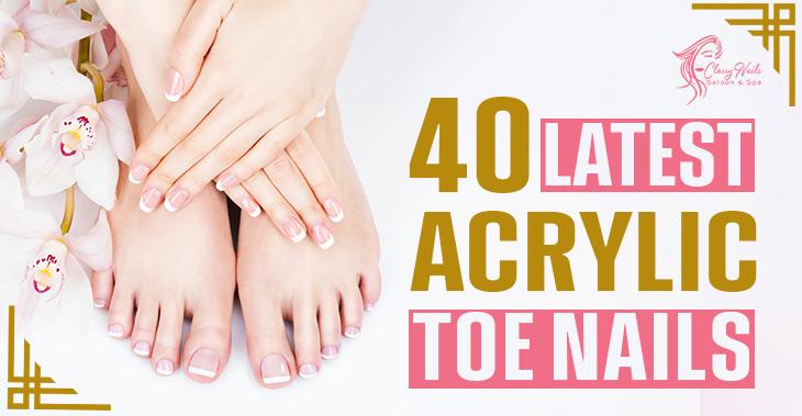 latest acrylic toes
