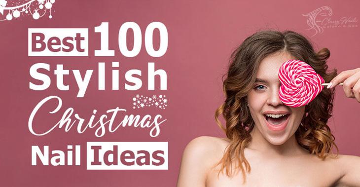 stylish christmas nail ideas