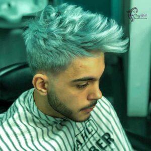 Grey Hair Mens Hairstyles