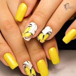 yellow_butterfly_nails