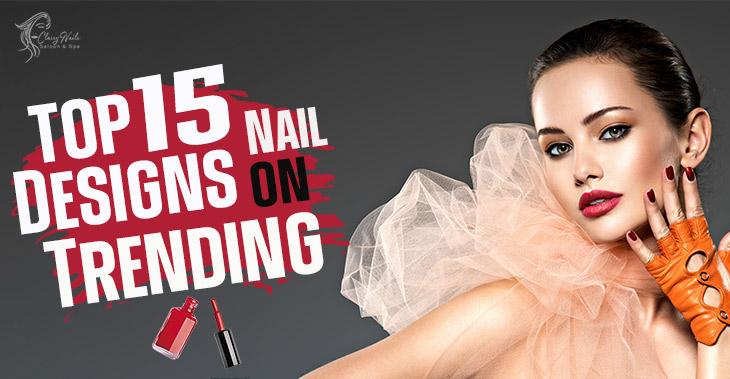 Top 10 Black Nail Designs | Classy Nails | 2021