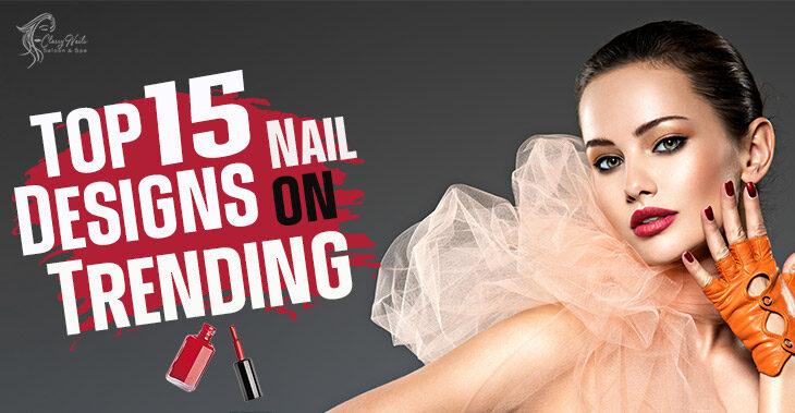 Top 10 Black Nail Designs   Classy Nails   2021