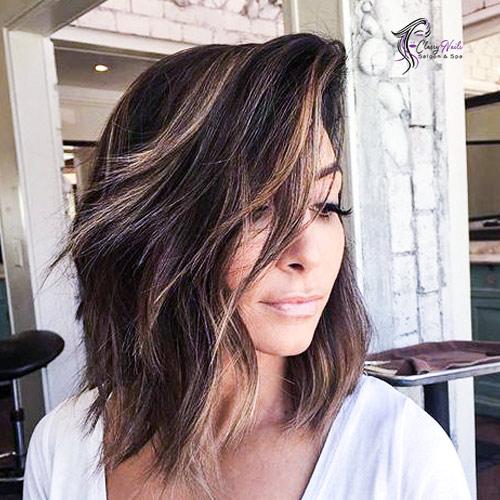 balayage layers cute hairstyles
