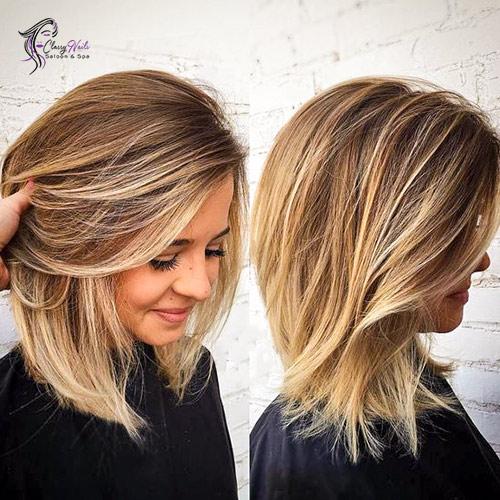 Balayage Layers Cute Hairstyles 4