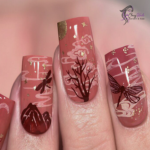 Butterfly Effect Nail Designs