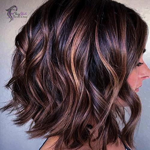 Curled Brown Bob Cute Hairstyles 4