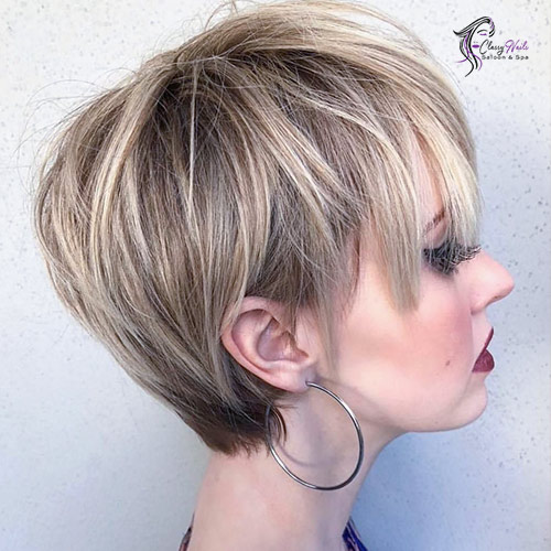 Layered Pixie Cute Hairstyles 1