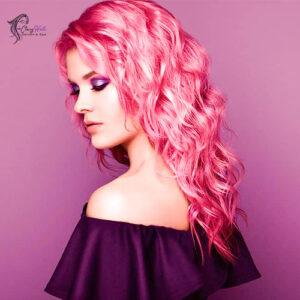 Pink waves highlight