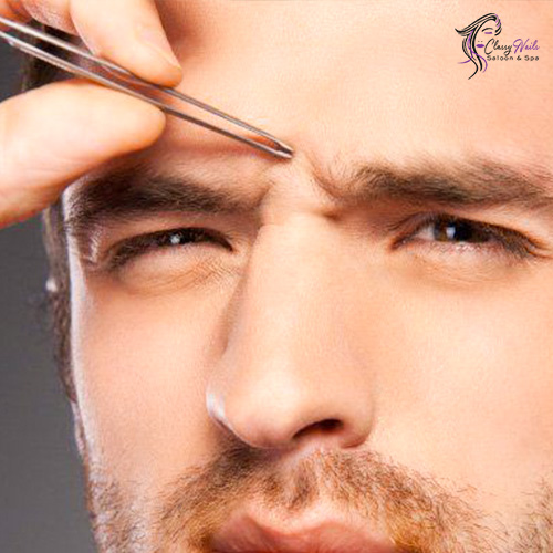 eyebrows manscaping