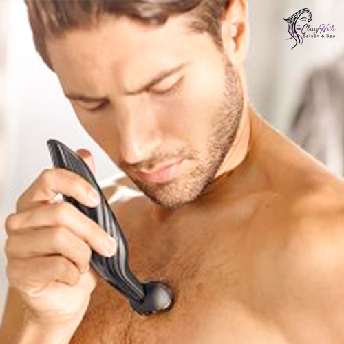 manscaping on chest