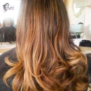 tint highlights hair